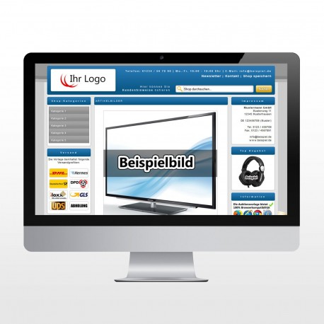 ebay Template Business One